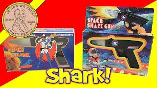 Vintage Space Shark Toy Blaster Collection