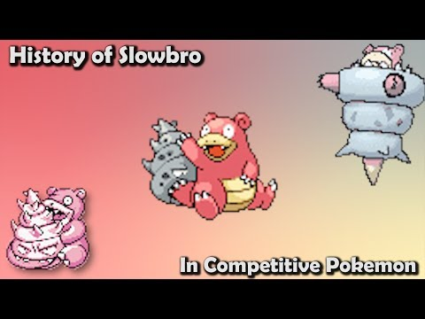 How GOOD was Slowbro ACTUALLY? - History of Slowbro in Competitive Pokemon (Gens 1-6)