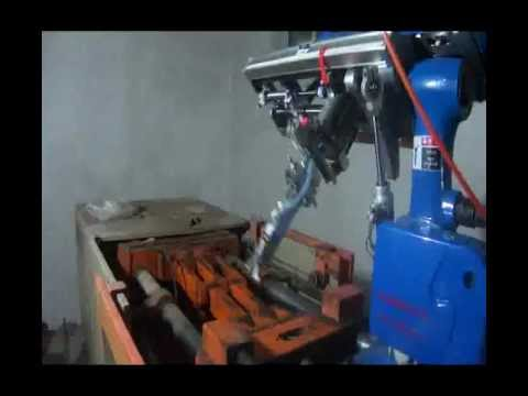 Robot Arm For Horizontal Injection Molding Machine