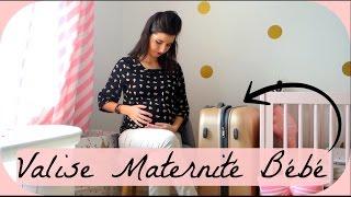 Valise maternité pour bebe