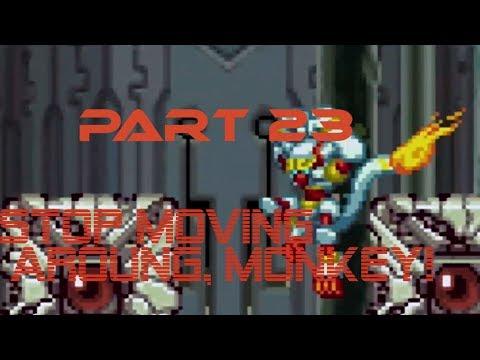 MegaMan Zero ZX Legacy Collection Ep 23 Stop Moving Around, MONKEY |
