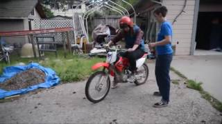 First Time On a Dirtbike Fail Compilation