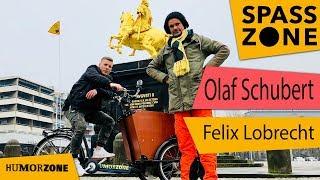 Felix Lobrecht und Olaf Schubert begucken Dresden