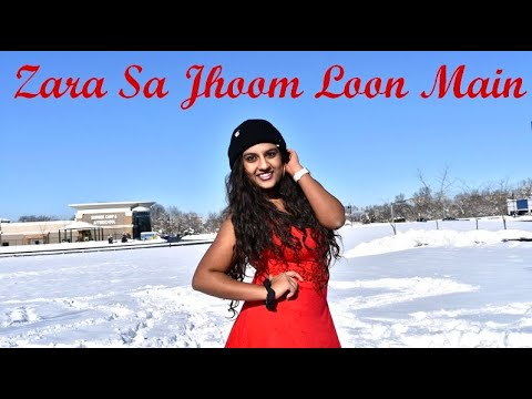Zara Sa Jhoom Loon Main | DDLJ | Ishika Girish | Quick Bollywood Choreography | Snow Special