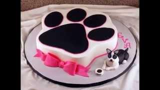 Dog Birthday Cake By Thefoodventure.com