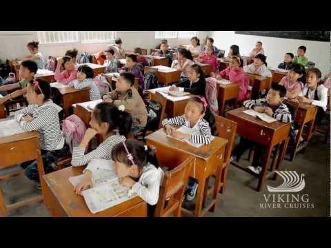 Yangtze School Visit with Viking