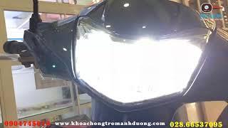Vì Sao Đèn LED Xe Máy Đời Mới Luôn Là Màu Trắng