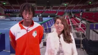 Up, Close and Personal with Gael Monfils