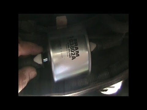 fuel filter replacement - 1992 ford ranger - youtube  youtube
