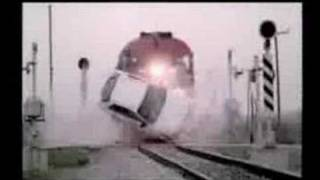 Attention in the crossings of trains