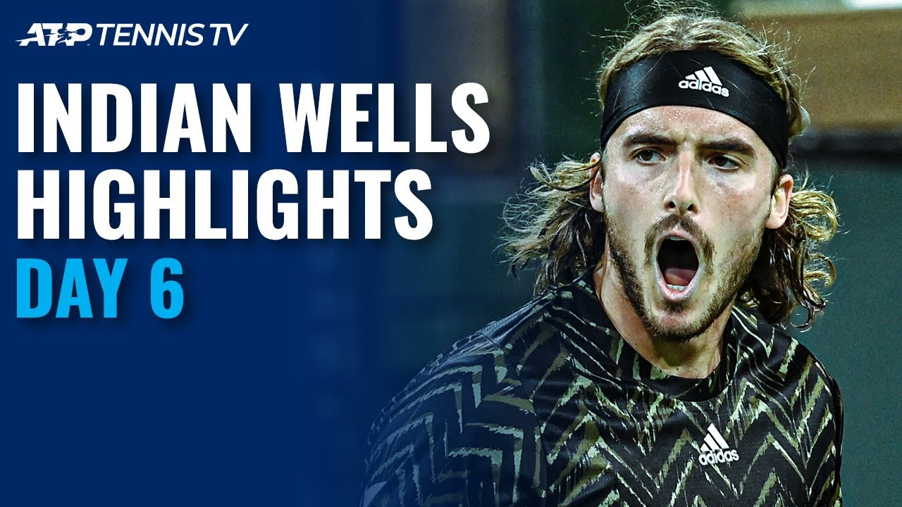 Zverev and Murray Clash; Fognini and Tsitsipas Heat it Up | Indian Wells 2021 Day 6 Highlights
