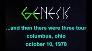 Genesis: Columbus, Ohio 8mm - 10 October 1978