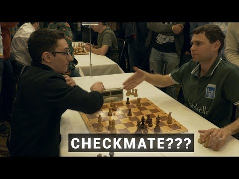 Funny Checkmate :) | Caruana vs Postny | Blitz Chess 2019