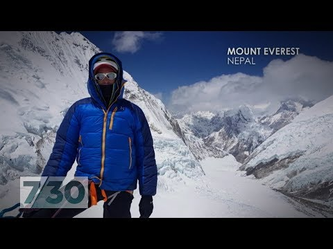 After recovering from a broken neck, Steve Plain climbed the world's highest mountains