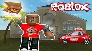 ROBLOX | WORK AT A PIZZA PLACE | PIZZA DELIVERIES