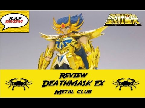 #34 - Review Máscara da Morte Metal Club e Comparacao com o Bandai - [PT - BRASIL]