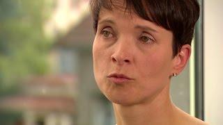 Frauke Petry (AfD) über Machtkämpfe und den Umgang mit Medien