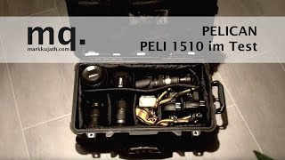 "DEUTSCH: PELI Koffer 1510 Photo - Case ""What's in your bag"" PELICAN Rollkoffer (German)"