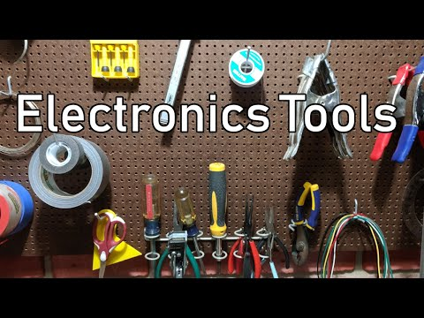 Basic Electronics Tools And Supplies