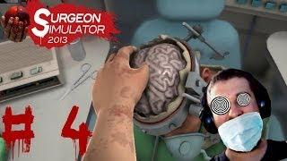 Surgeon Simulator - P3Zmrdova operácia mozgu / Slovenský Gameplay / CZ/SK Let's Play / časť 4