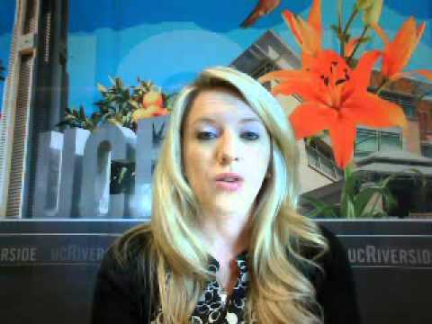 Video Chat - UC Riverside,  Admission as an International Student