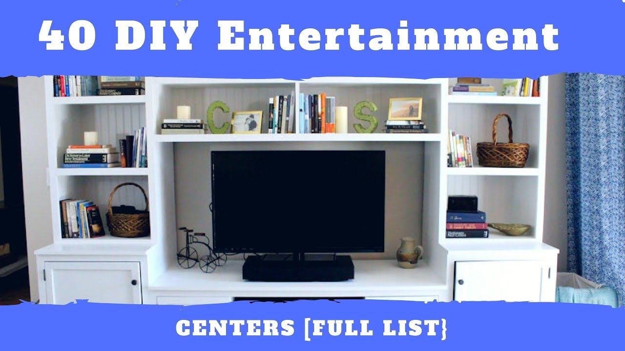 40 diy entertainment center plans ranked mymydiy inspiring diy projects