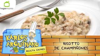 Receta de Risotto de champiñones por Karlos Arguiñano