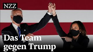 Ein starkes Duo gegen Donald Trump – so ergänzen sich Joe Biden und Kamala Harris