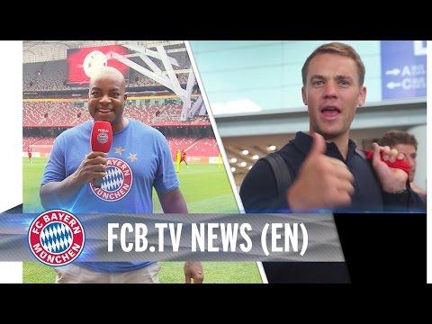 FC Bayern kick off the Audi FCB Tour China