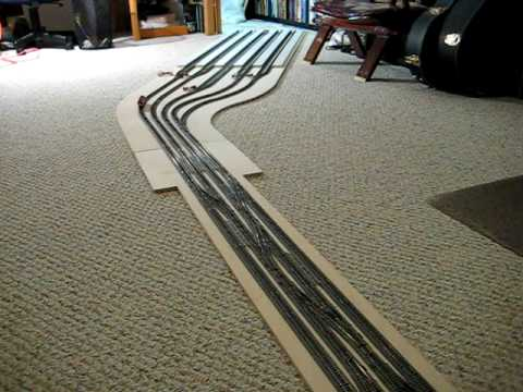 Modernholayout as well Sph Convention 2013 Fresno furthermore Watch likewise Building Bridges further 5x10 Fastrack Layout  plete For Now. on model railroad ho layout plans bridges