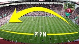 10 СЕНСАЦИОННЫХ голов ВРАТАРЕЙ в футболе