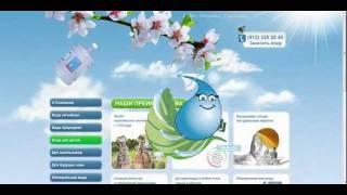 Обзор сайта Полюстрово доставка воды