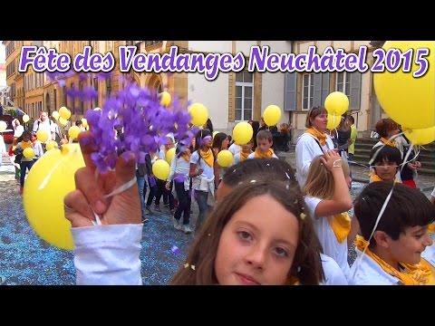 Fête des Vendanges Neuchâtel 2015 Cortège des enfants