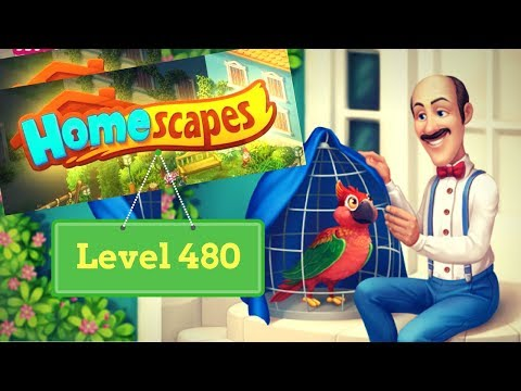 Homescapes Level 480 - How to complete Level 480 on Homescapes