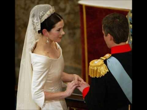 Royal Wedding - Frederik and Mary of Denmark - YouTube