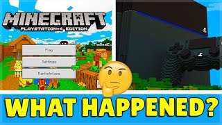 Minecraft PS4 Bedrock Edition - Why Wasn't It Revealed At Minecon?!?