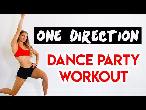 ONE DIRECTION 15 MIN DANCE PARTY WORKOUT Full Body/No Equipment