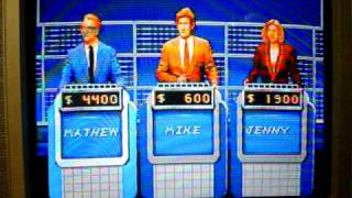 SNES Jeopardy! Deluxe Edition Game 3 Part 2
