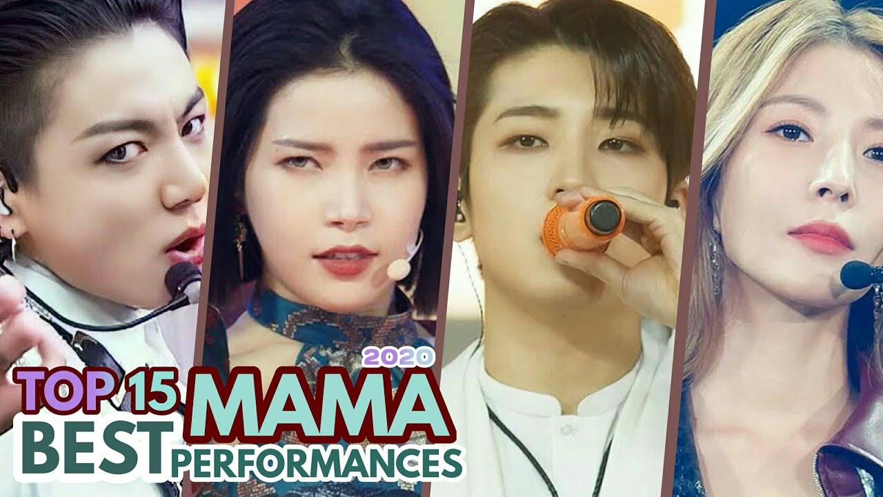 TOP 15 BEST MAMA 2020 PERFORMANCES