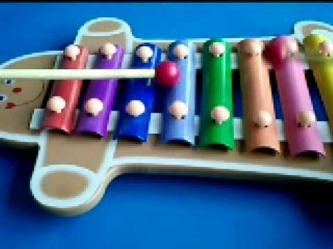 Happy Cartoon Toy Xylophone Children Music Instrument ...