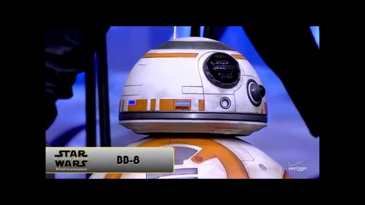 bb 8 droid from the force awakens rolls on stage at star wars celebration anaheim youtube. Black Bedroom Furniture Sets. Home Design Ideas