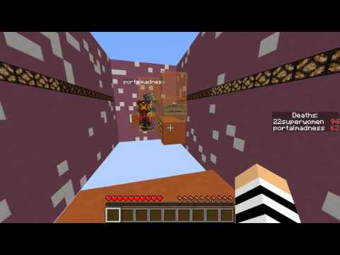 20 Meters | Mincraft parkour map | Portal's RAGE!!!??!