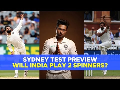 Should India play two spinners at SCG? | Australia v India, 4th Test preview