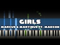 Girls Marcus Martinus Ft Madcon