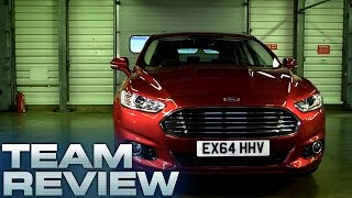 Ford Mondeo (Team Review) - Fifth Gear(In this Team Test the 2015 Ford Mondeo is put through it's paces. For more fantastic car reviews, shoot-outs and all your favourite Fifth Gear moments, subscribe ..., 2016-02-02T17:00:00.000Z)