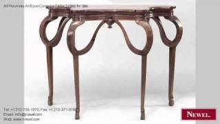 Art Nouveau Antique Console Table Tables For Sale