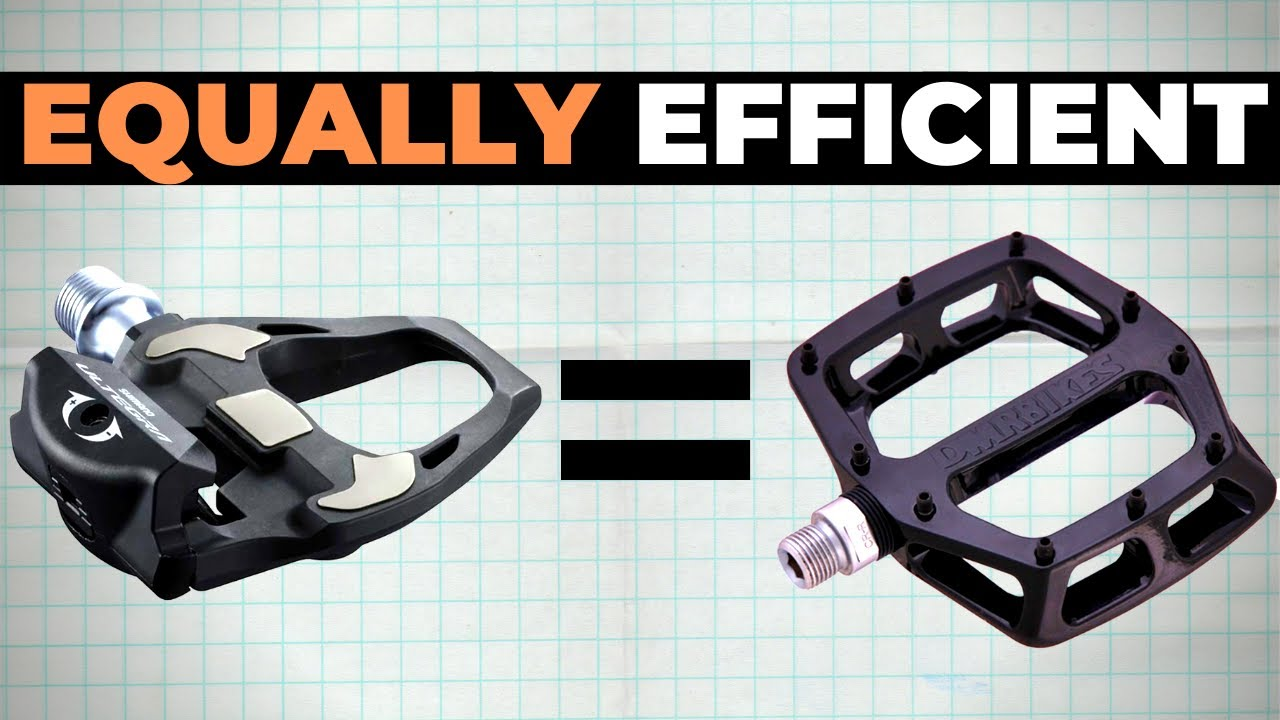 Are Clipless Pedals Actually More Efficient Than Flat Pedals? The Answer Might Surprise You.