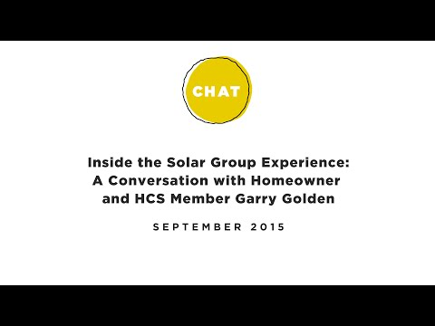 Inside the Group Solar Experience: A Conversation with Homeowner and HCS Member Garry Golden