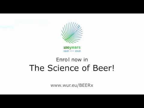 MOOC The Science of Beer | Wageningen University & Research