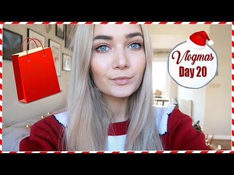 LAST MINUTE CHRISTMAS SHOPPING | VLOGMAS DAY 20